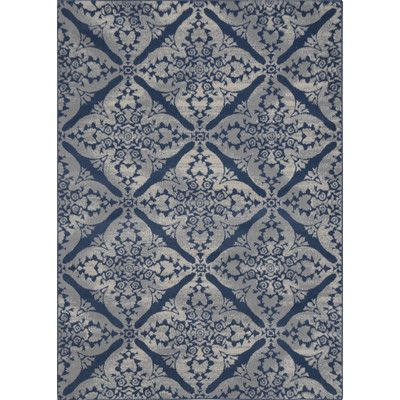 Anzell Blue Gray Area Rug Inspiration Fabrics For Family