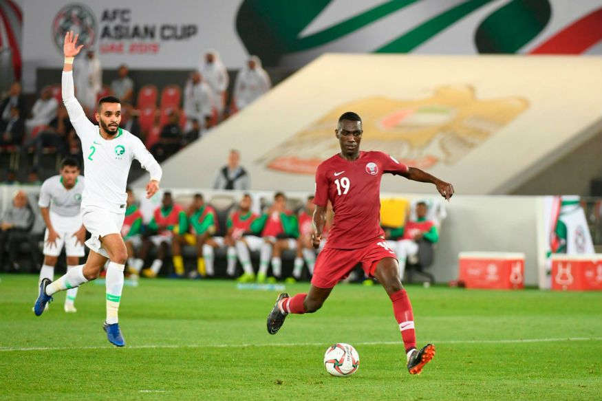Ali Brace Floors Saudi Arabia As Qatar Defy Asian Cup Haters Cup Final Cup Qatar