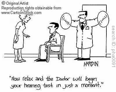Hearing test comic  Repinned by Columbus Speech & Hearing