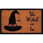 The Witch Is In Door Mat