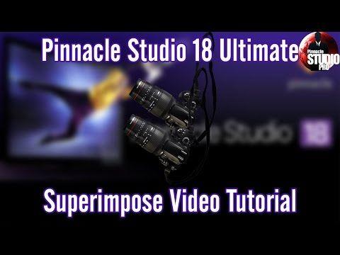 Pinnacle studio 18 19 ultimate superimpose video tutorial pinnacle studio 18 19 ultimate superimpose video tutorial youtube maxwellsz