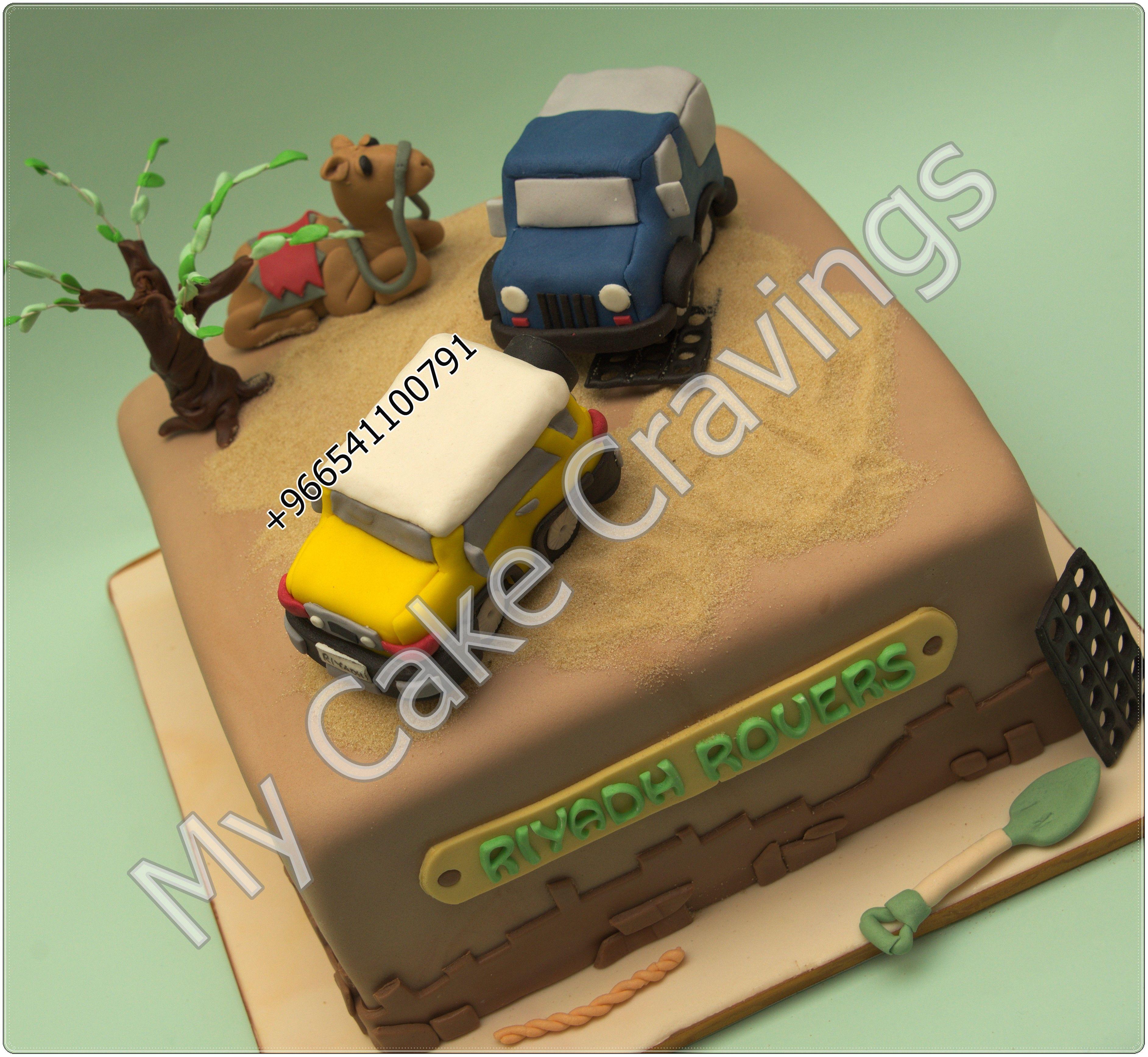 Desert adventure Desert safari camel cake topper sand dunes sand