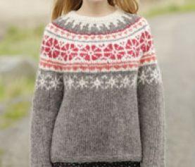 Trui breien met Noors motief Ouderwets Breien | Trui