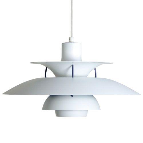 La lámpara PH5 de Louis Poulsen ofrece una iluminaci³n sin