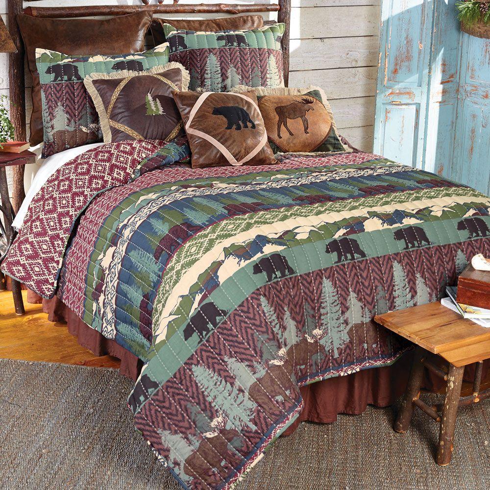 Bear Gulch Quilt Bed Set King