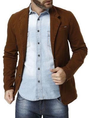 cac319a37 Blazer Masculino Bivik - Blazer masculino - Confeccionado em sarja