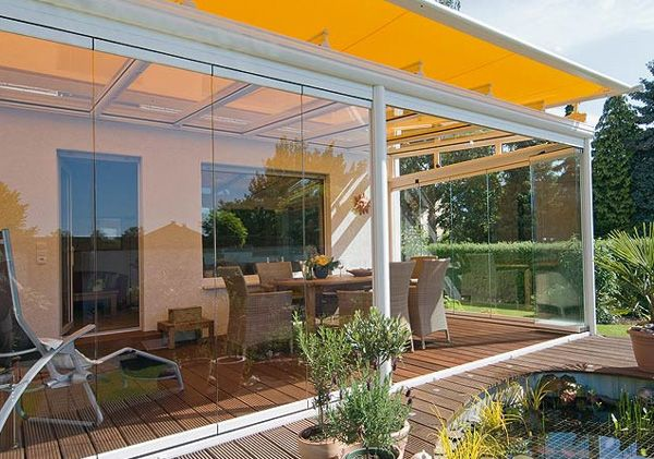 Glass Patio Rooms From Weinor Glasoase Modern Outdoor Patio
