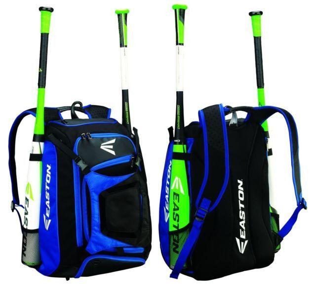 Easton Walk Off Baseball Softball Bat Equipment Backpack Bag