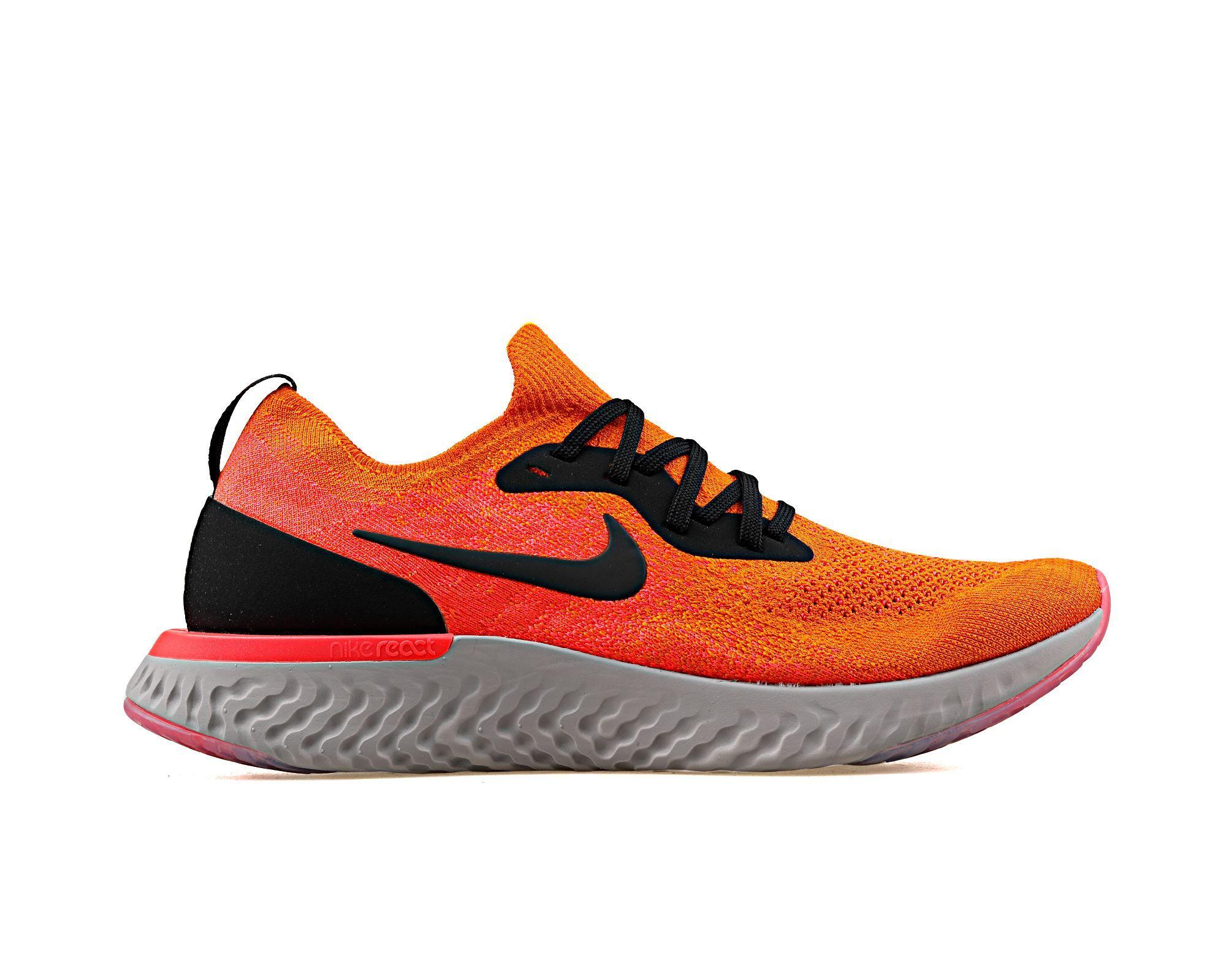 promo code 97be1 81c3e Epic React Flyknit Erkek Nike Turuncu Erkek Koşu Ayakkabısı AQ0067-800    Korayspor