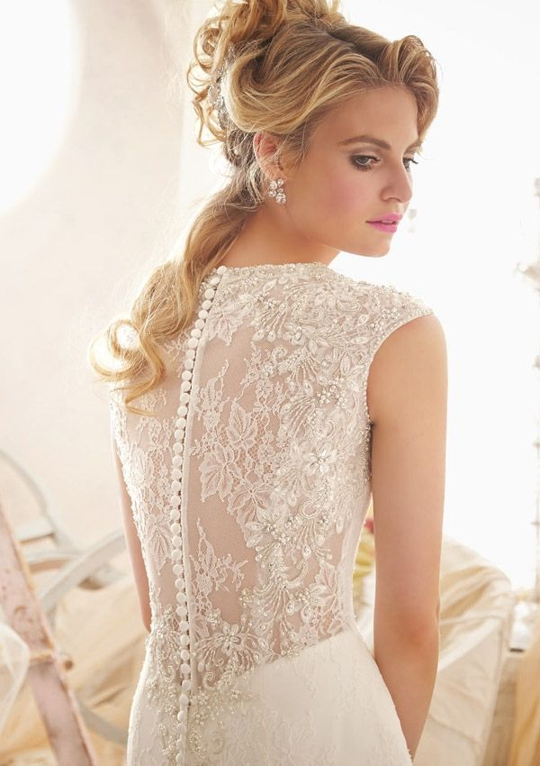 Back Wedding Gown Designs