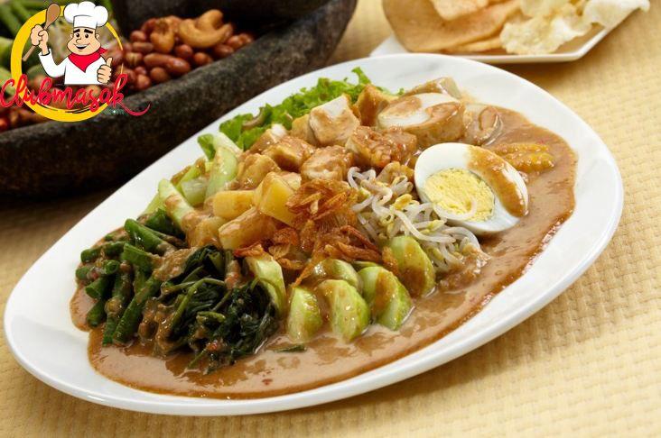 Resep Gado Gado Ulek Special Khas Betawi Resep Gado Gado Indonesian Food Food Gado Gado Recipe