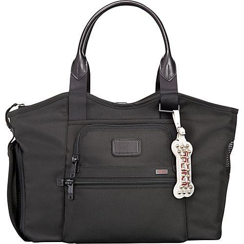 Tumi Alpha Pet Carrier Black - Tumi Pet Bags