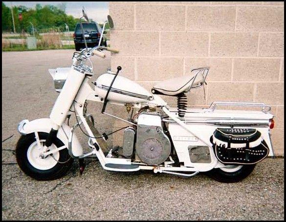 1959 cushman super eagle scooter ways to get around. Black Bedroom Furniture Sets. Home Design Ideas