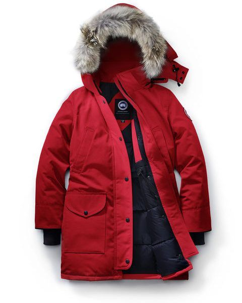 canada goose dames rood