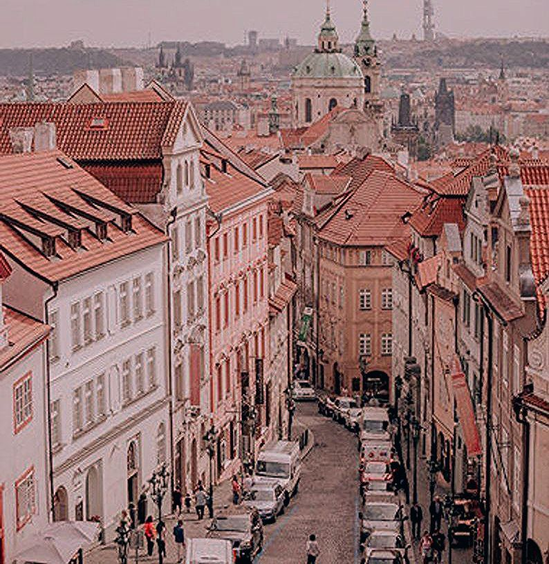Photo of Pink Wall Art Prague Gallery Wall Prints Travel Photography