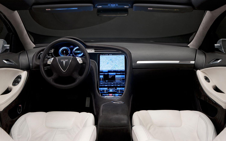 TeslaModelSinteriorview Cars You Want To Drive - 2012 tesla model s
