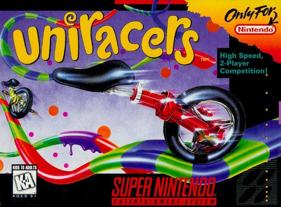Uniracers Super Nintendo Snes Tested And Working Video Game