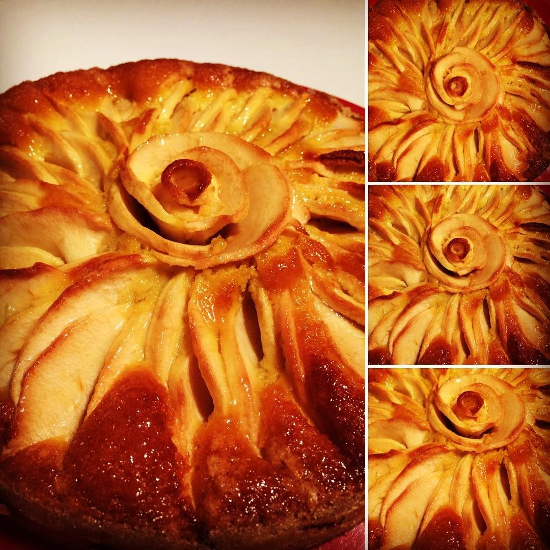 Torta di mele di Gino Fabbri #cake#apple#applepie#pie#cakestagram#ginofabbri#comfortfood#foodporn#sweet#sweettooth#breakfast#goodmorni#delicious#pastry#patisserie#bake#bakery