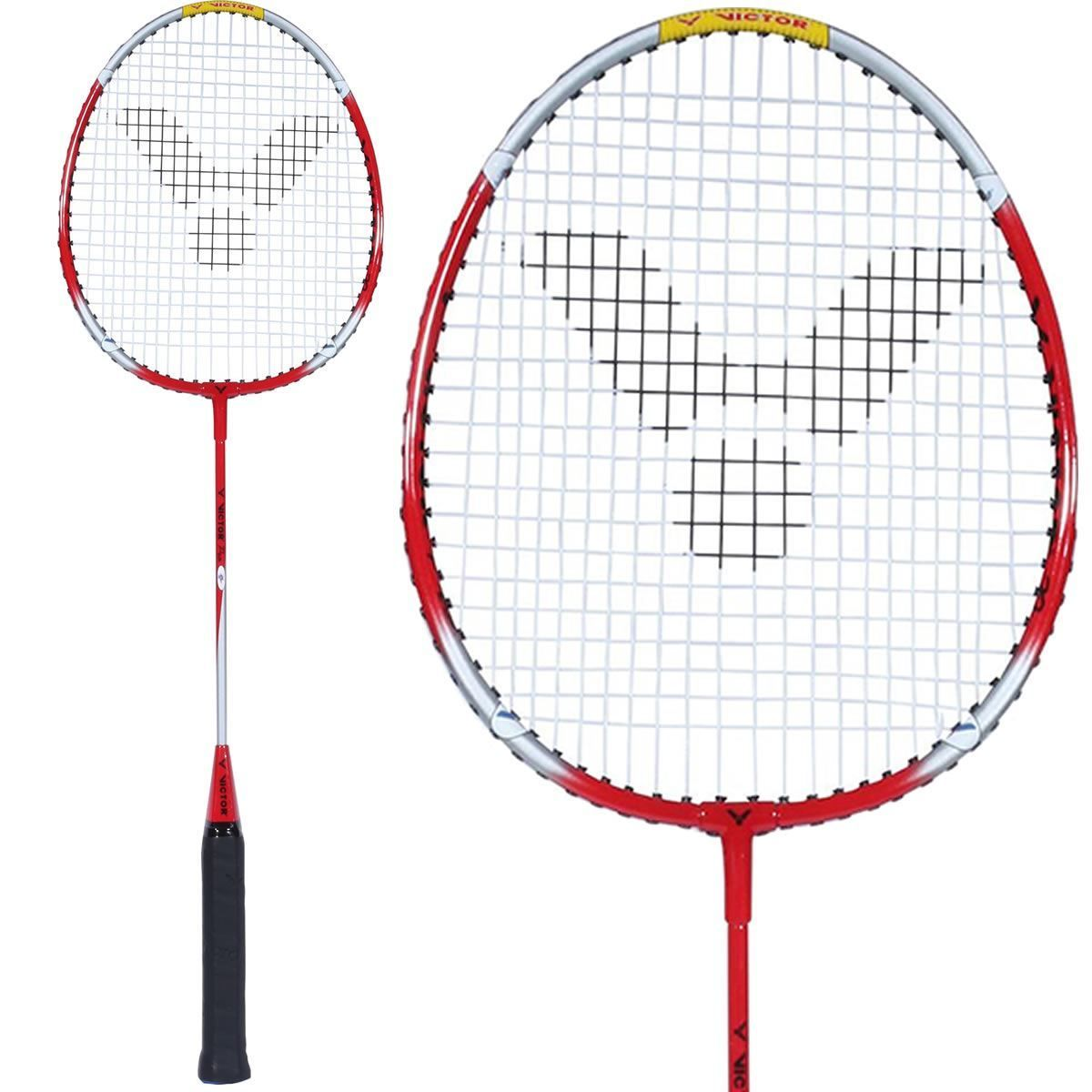 Victor Pro Badminton Racket - Red Silver in 2020 ...