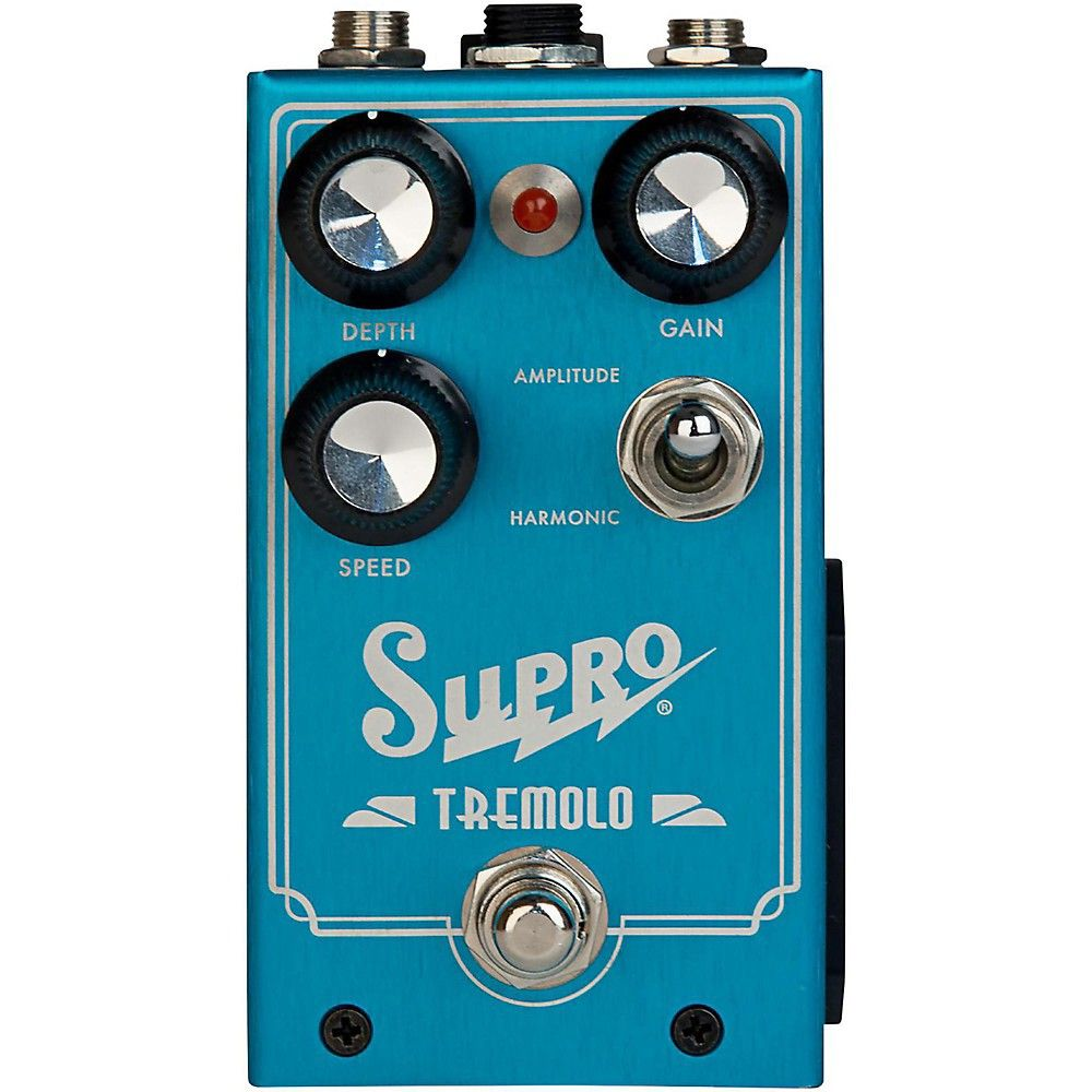 Supro 1310 Analog Harmonic Tremolo Pedal in 2019 | Products