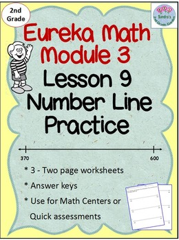 2nd Grade Eureka Math Module 3 Lesson 9 Counting on an Empty