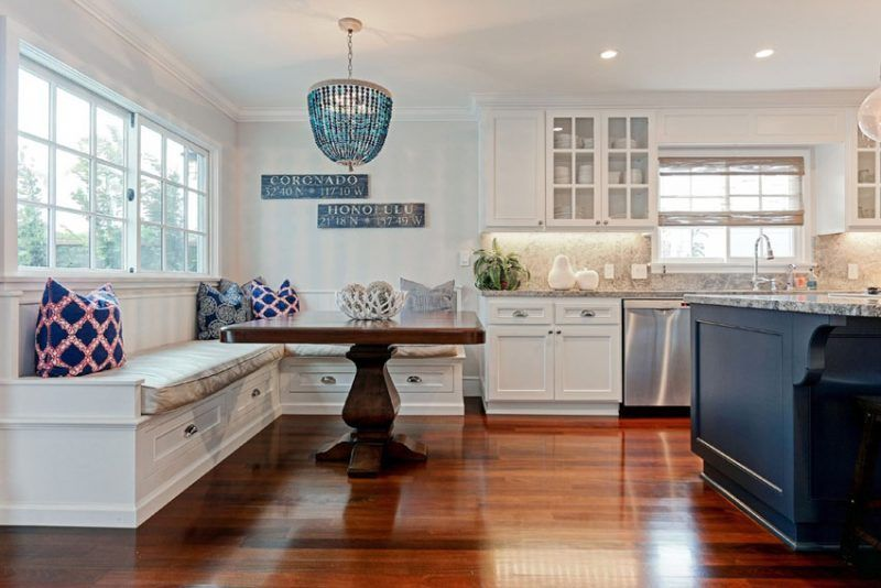 Luxury Beach Style Kitchen Cabinets
