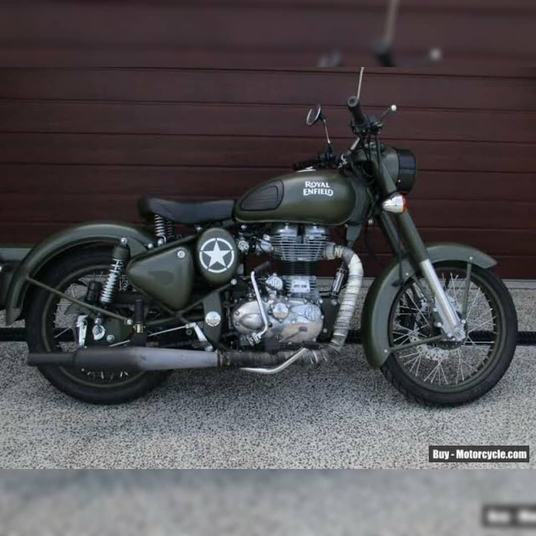 Royal Enfield Classic Battle Green 500cc Relovers Relove