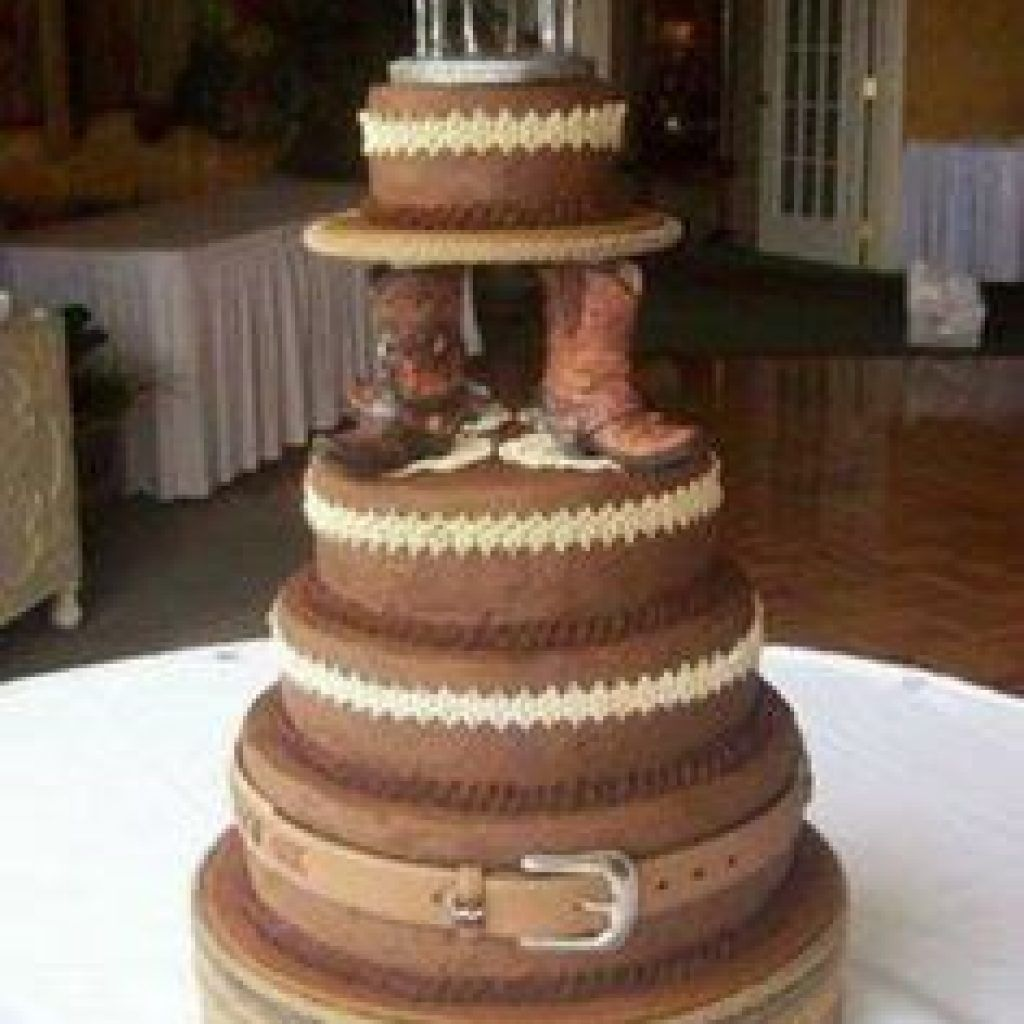 Country Themed Country wedding cakes, Cowboy wedding