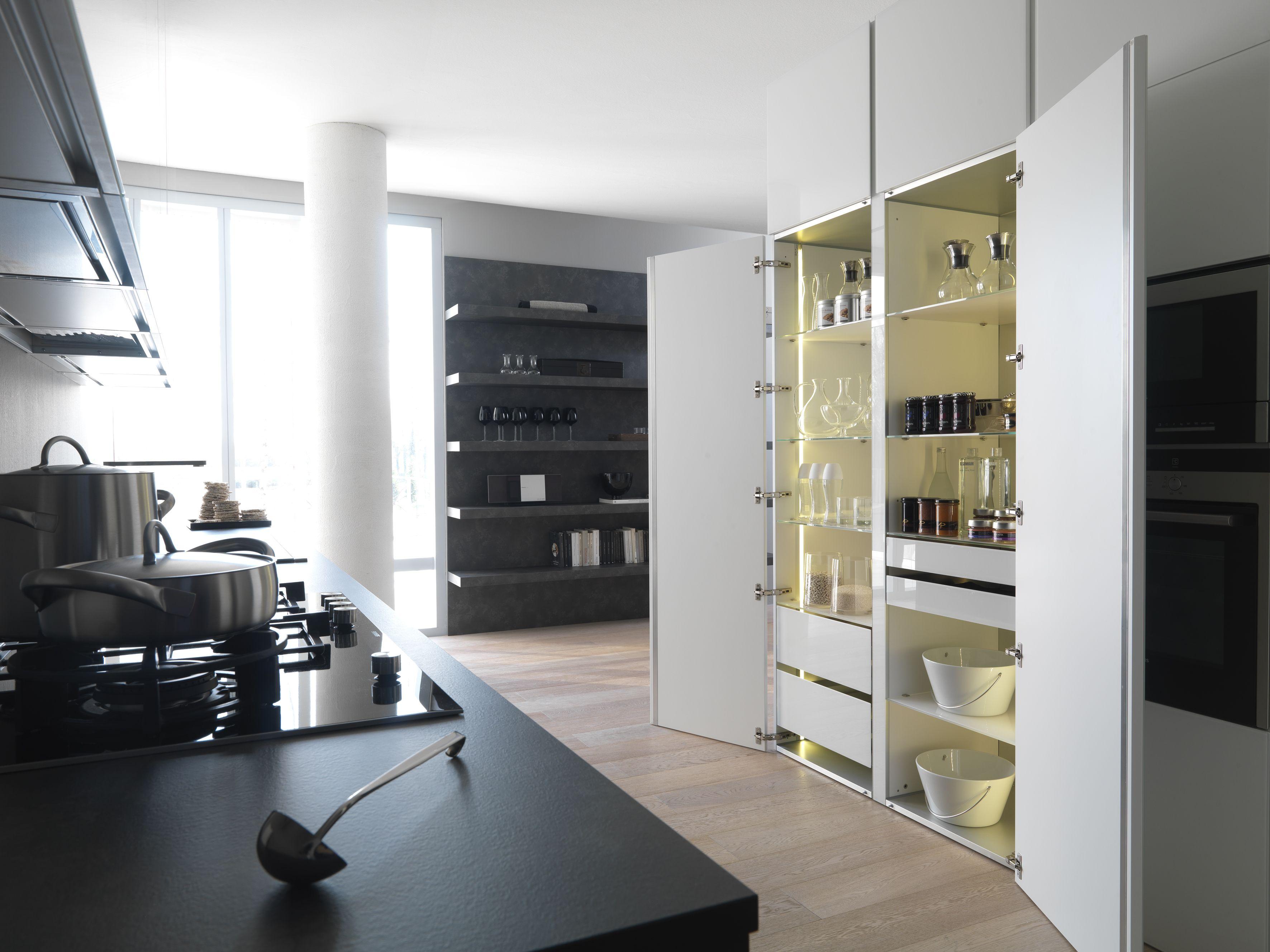 Modulnova Concept Line Kitchen Behind Closed Doors Tall