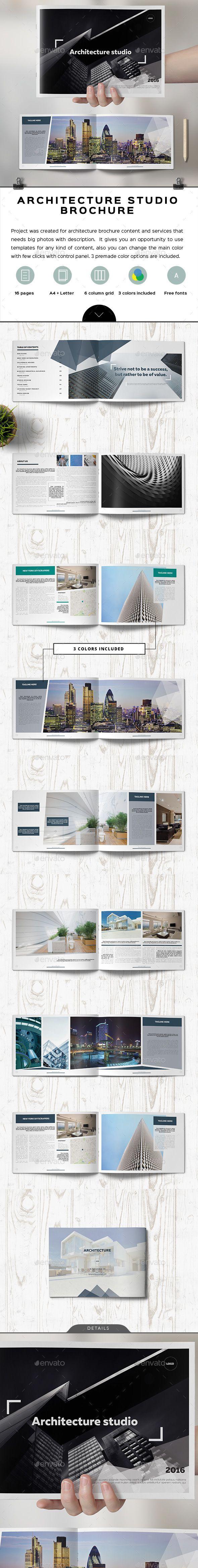 Boso Architecture Landscape Brochure  Brochures Brochure