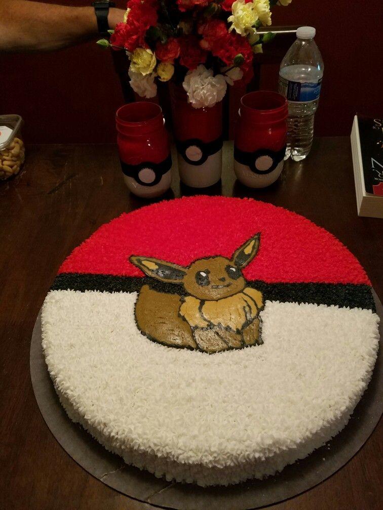 Eevee Pokemon Pokemon Cakes With Images Pokemon Cake