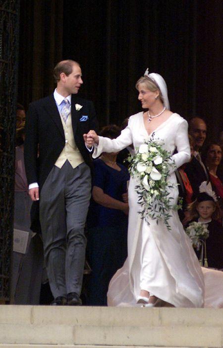 Sophie of Wes and Prince Edward wedding 1999 Celebrity news