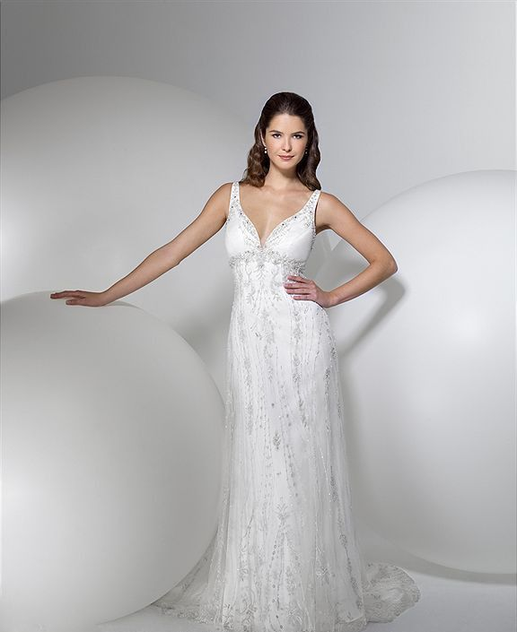 Alita Graham Wedding Dress 7287 Hochzeit