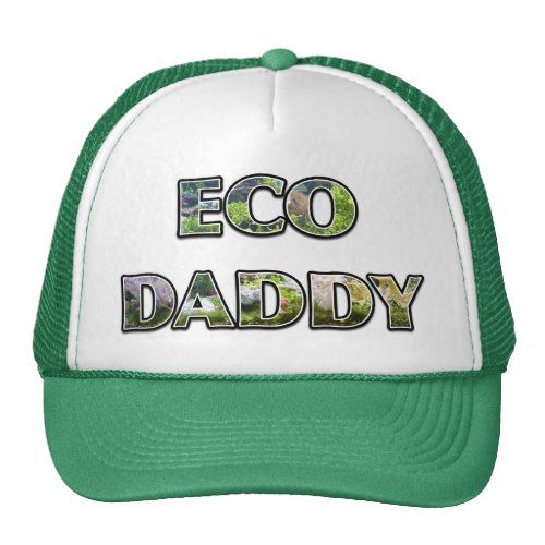ECO DAD Ecotopia Design Kelly Green Trucker Hat  e3646af9ec82