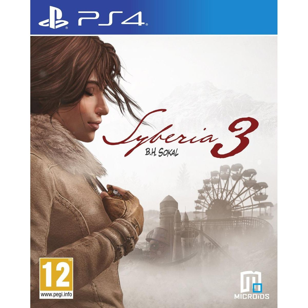Syberia 3 Ps4 Taille Taille Unique Ps4, Jeux