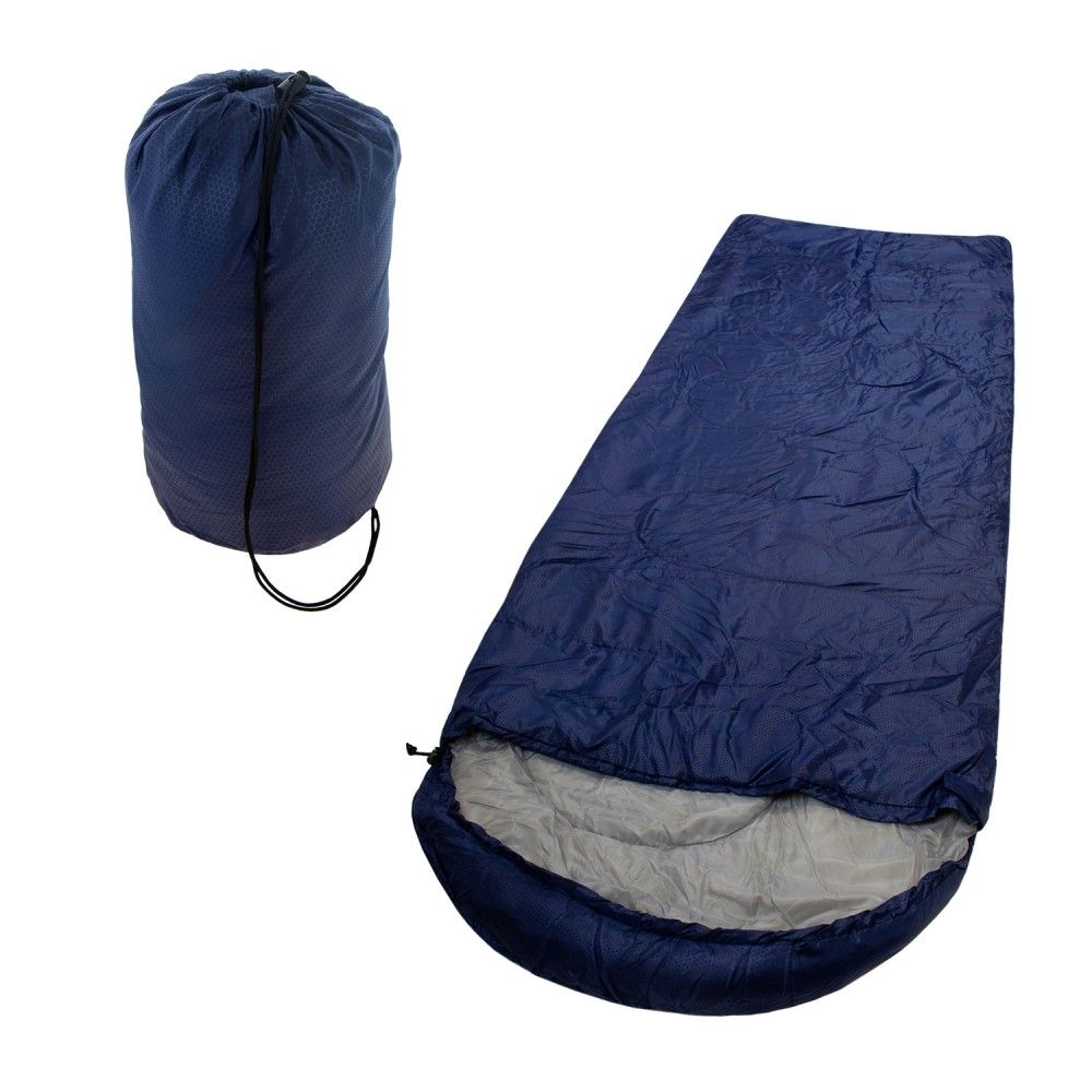 These Wholesale Polyester Hollow Fiber Ultra Lightweight Hooded Sleeping Bags Come In Navy Perfect For Any Season Outdoor Sleeping Bag Sleeping Bag Blue Cases