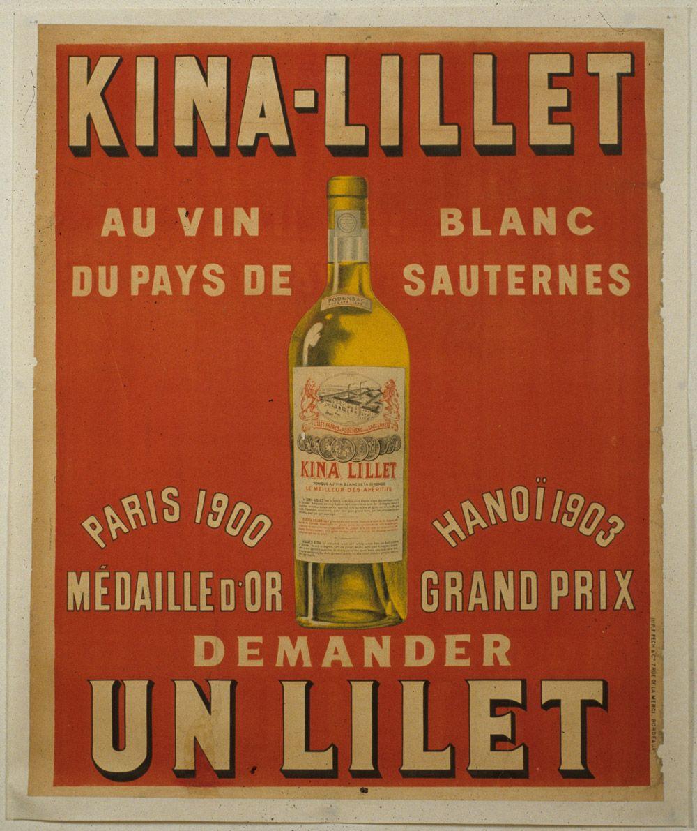 Lillet Vintage Pernod Ricard Bordeaux Wine Bordeaux