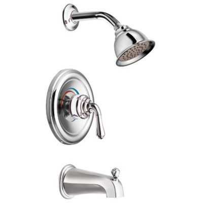Moen Monticello Posi Temp Dual Control Tub And Shower Faucet Trim