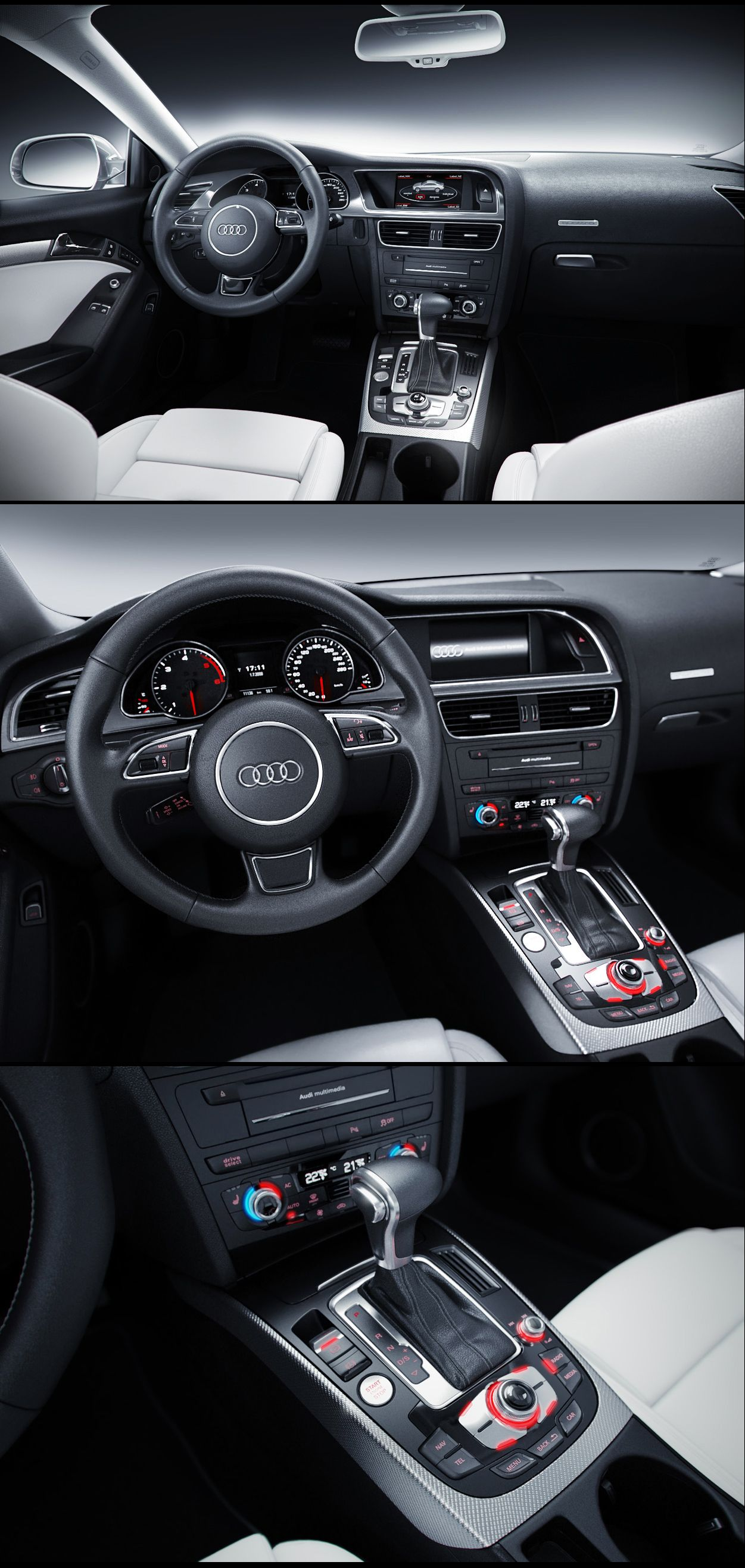 Audi A5 2011 Interior by MUCK ONE on DeviantArt