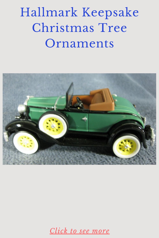 Vintage Roadsters 1931 Ford Model A Hallmark Keepsake