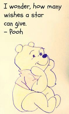 Pooh quote Star