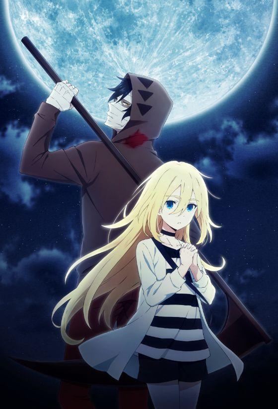 Satsuriku No Tenshi Est Adapte En Anime Chicas 2 D Pinterest