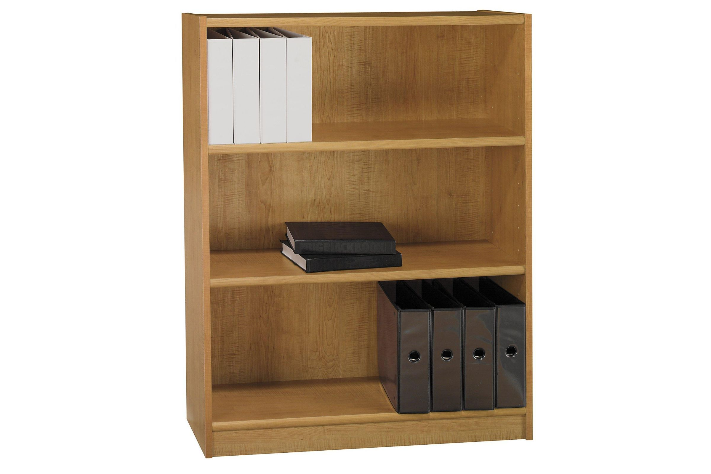 Universal 3 Shelf Bookcase In Snow Maple By Bush In 2019 3 Shelf Bookcase Shelves Bookcase