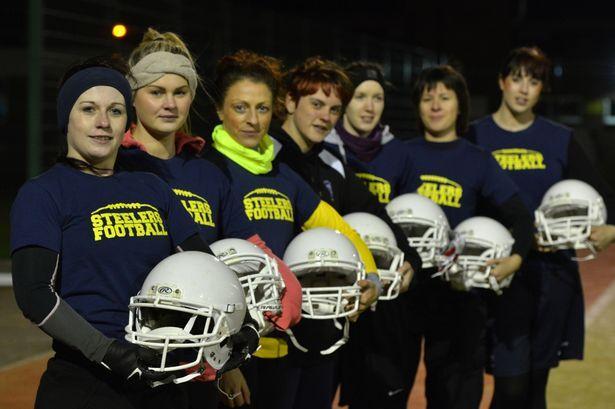 Women american football team
