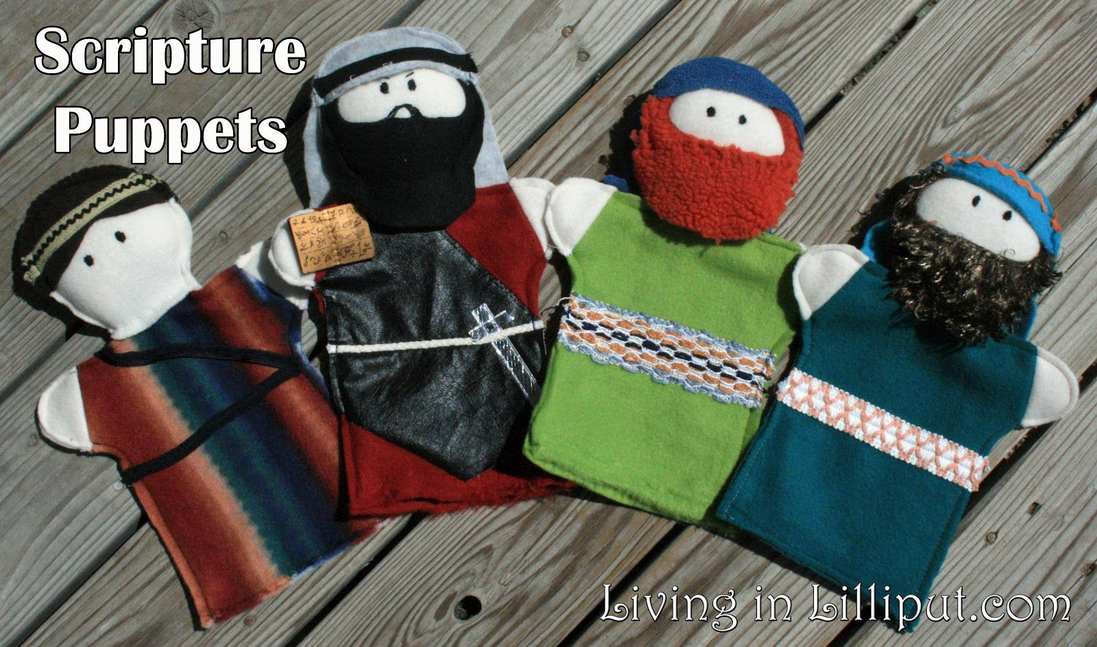 bible character puppet patterns