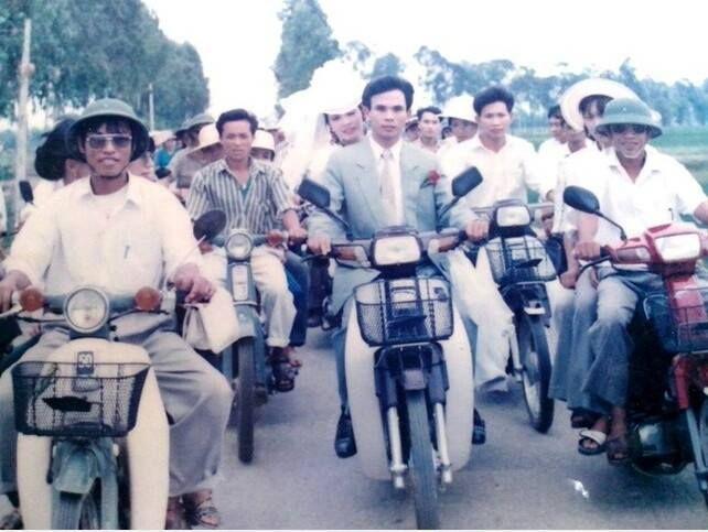 a wedding in Vietnam, 1980s