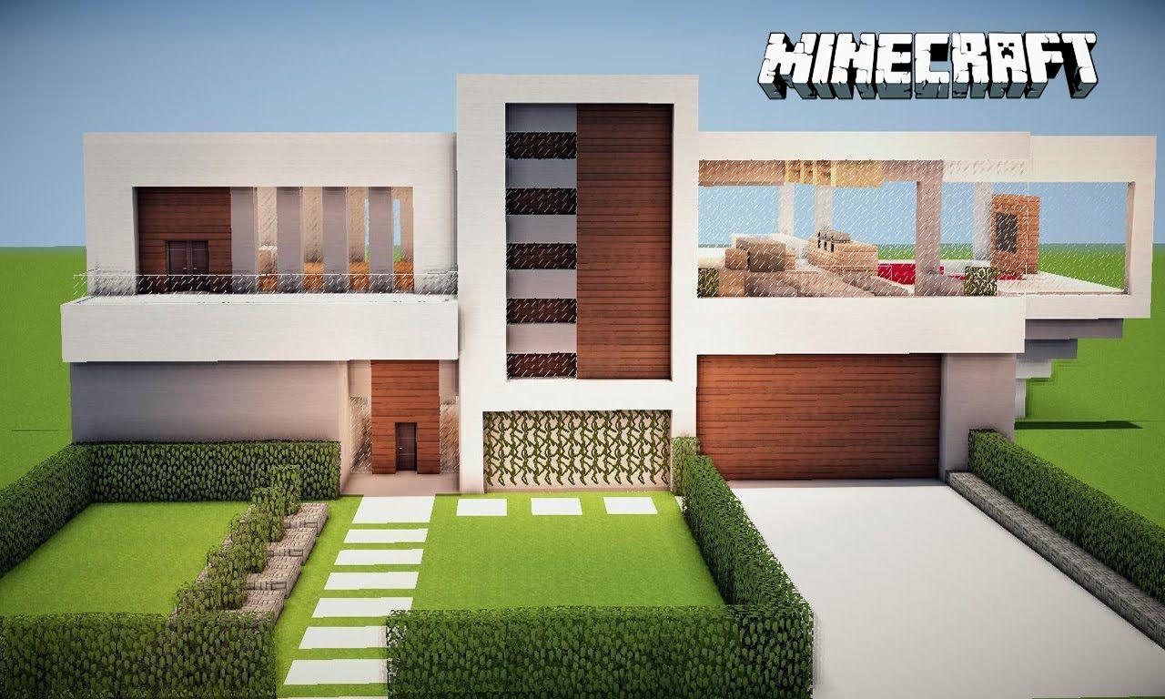 Minecraft casas buscar con google minecraft for Casa moderna y pequena en minecraft