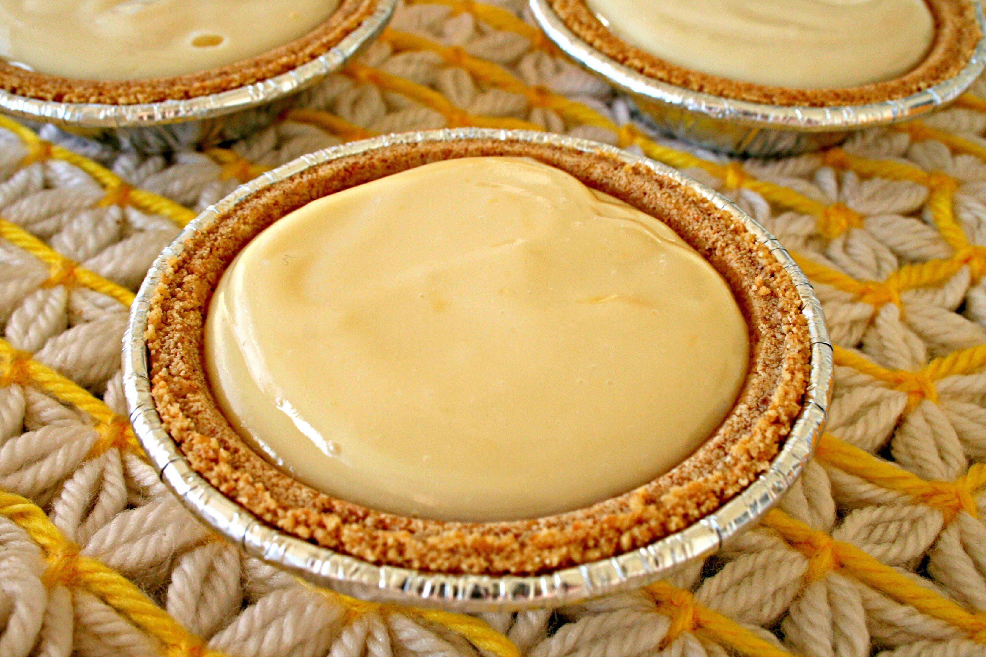 Meyer Lemon Pie No Bake And 2 Ingredients Eat At Home Recipe No Bake Lemon Pie Lemon Pie Lemon Recipes