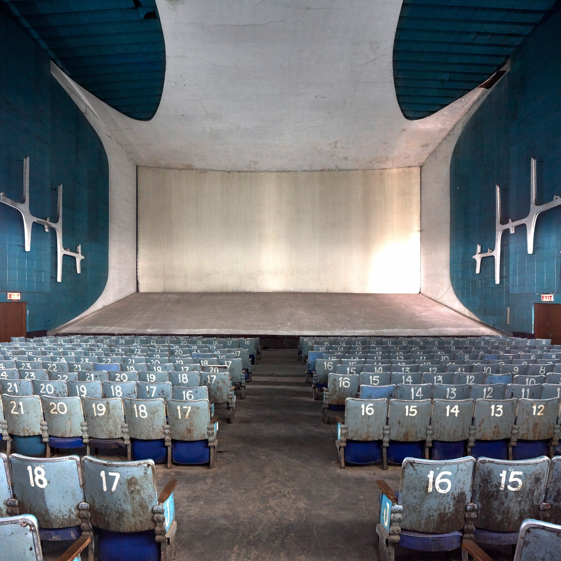 neelam theatre part of le corbusier s chandigarh is revealed by
