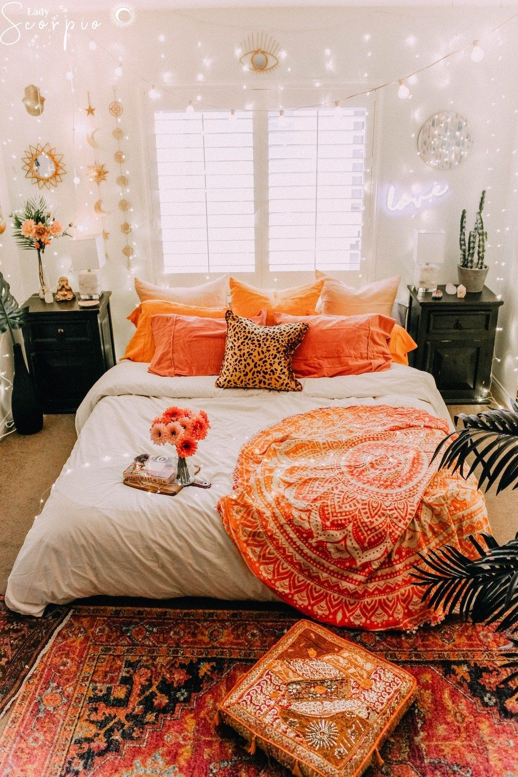 Unique Boho Bedroom Decorating Ideas To Upgrade Your House ... on Boho Bedroom Ideas On A Budget  id=79838